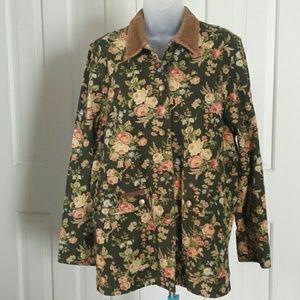 Lauren Jeans Co,  R. L. 1967 cotton jacket